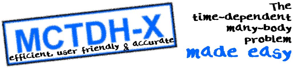 MCTDH-X forum